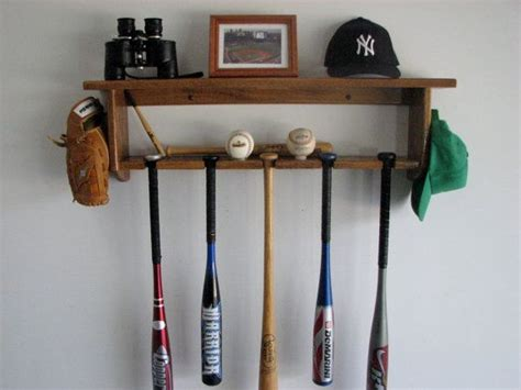 Baseball Bat Racks by Baseball Display Shelf Woodworking Projects Plans