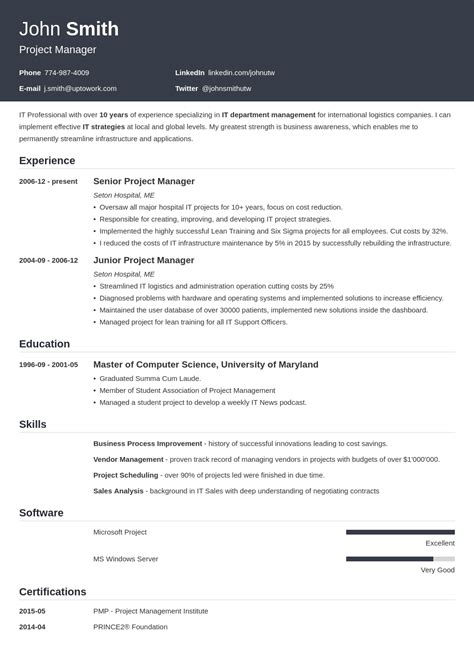 2018 cv templates download create yours in 5 minutes professional resume templates professional resume