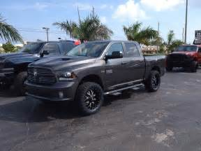 grey dodge ram 1500 with 4 quot lift kit trucks