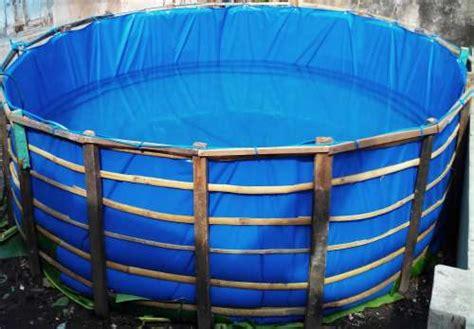 Jual Kolam Terpal Bulat Pekanbaru kolam bundar rws godhong ijo