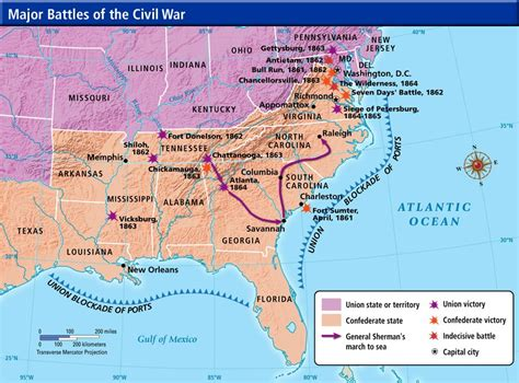 map usa union confederate mr thorngren s world geography and u s history