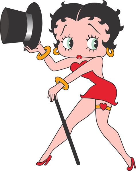 black betty boop cartoon betty boop holding black hat desicomments com