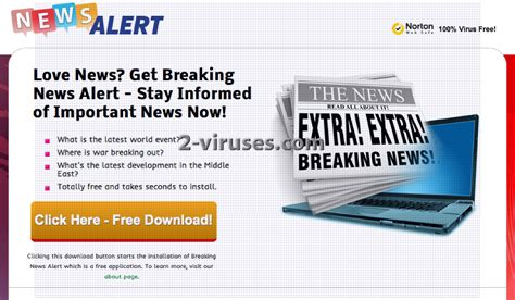 New Alert Is Wired 2 by Breaking News Alert How To Remove 2 Viruses