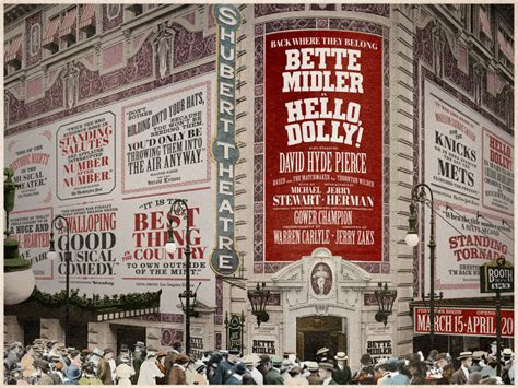 Warren Theater Moore Gift Cards - put on your sunday clothes tickets now available for hello dolly starring bette