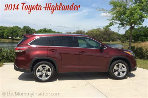 2014 Toyota Highlander Msrp A Review Of The 2014 Toyota Highlander