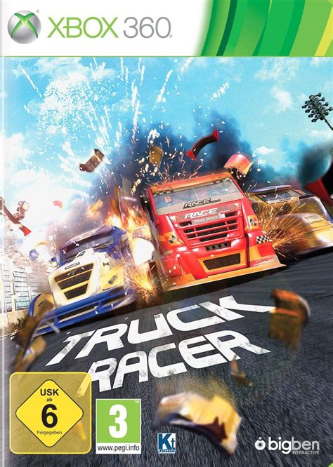 monster truck video games xbox 360 truck racer reviews