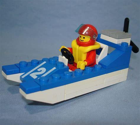 lego boat vintage lego legoland wave racer speed boat vehicle minifig