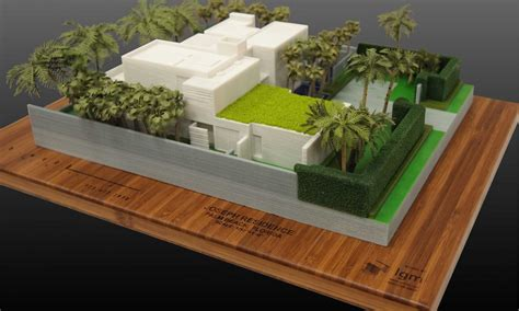 3d projects color 3d print of a residence lgm