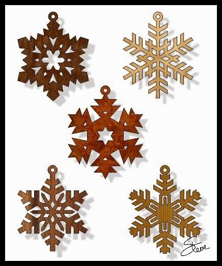 scrollsaw workshop snowflake christmas ornament scroll