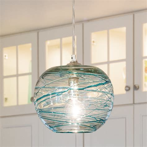 large glass globe pendant light swirling glass globe mini pendant light shades of light