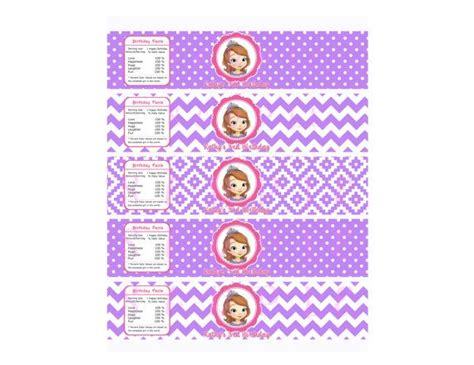 sofia the water bottle labels 18 best images about sofia the on