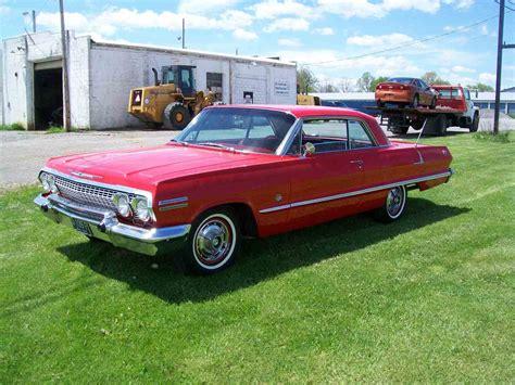 1963 chevrolet impala ss 1963 chevrolet impala ss for sale classiccars cc