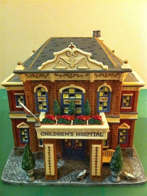 lemax christmas village hospital the world s catalog of ideas