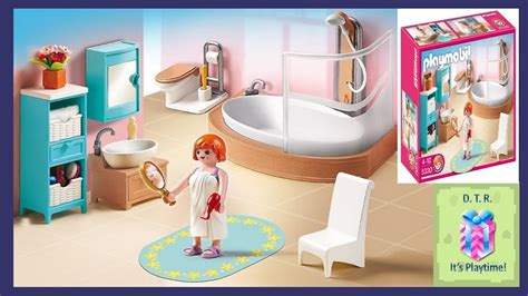 playmobil bathroom playmobil 5330 grand bathroom little story toy wonders