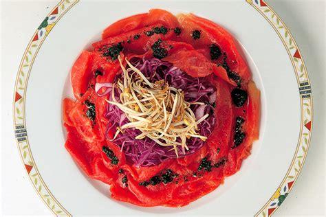 cucinare il cavolo rosso ricetta carpaccio con cavolo rosso la cucina italiana