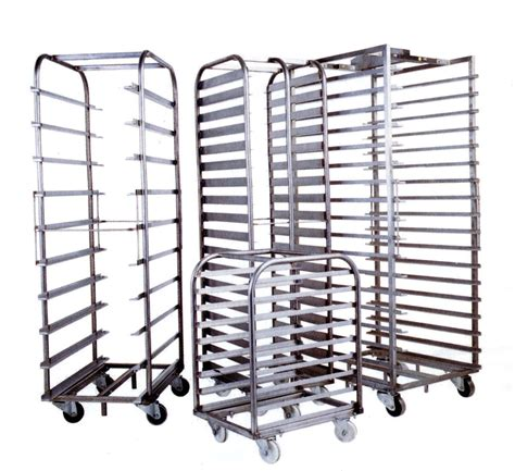 On Rack by Bakery Trolleys And Racks