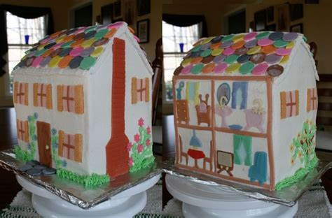 dolls house cakes dollhouses made of cakes