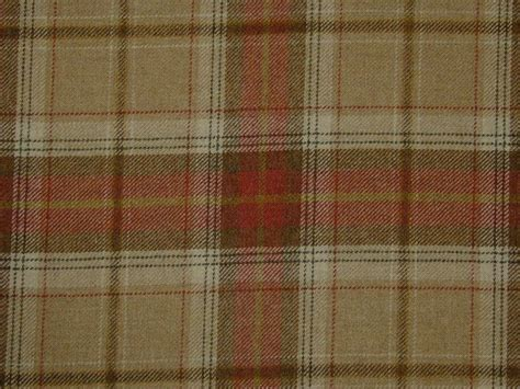 Tartan Fabrics For Upholstery - wool tartan check plaid oatmeal curtain upholstery