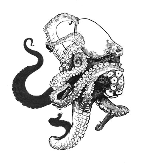 black sea octopus