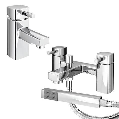 Mixer Neo neo minimalist basin and bath shower mixer chrome at