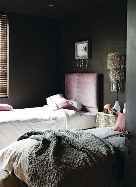 dark gray bedroom dark bedrooms for the dark season vkvvisuals com blog