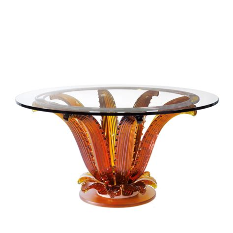 cactus table  table amber crystal interior