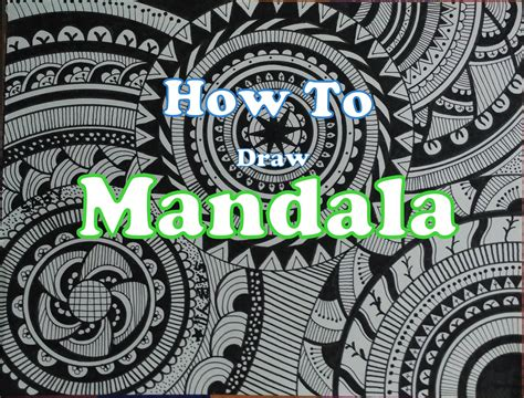 how to doodle for beginners how to draw complex mandala design for beginners easy