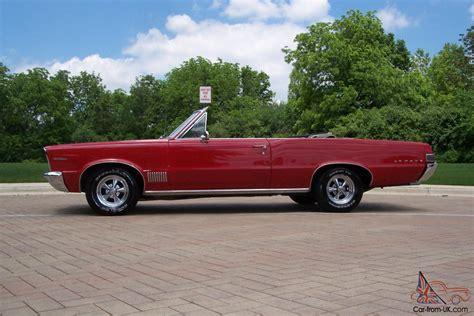 64 Pontiac Lemans by 1965 Pontiac Lemans Quot Gto Quot Convertible S Matching