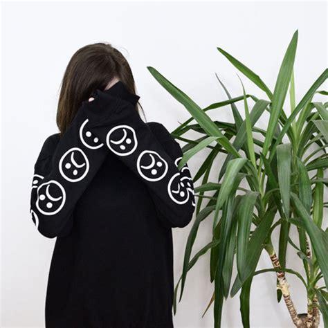 Kaos Fall Out Boy Bomb White Print On Gildan sad faces emoticon sleeves printed keyboard sweatshirt