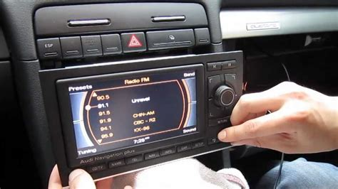 Audi A3 8p Navi Nachr Sten by Audi A3 A4 A5 A6 Rns E Ipod Iphone Aux Adapter Youtube