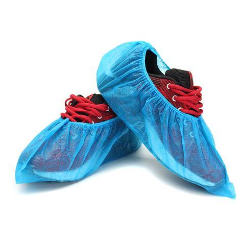 Shoes Cover Non Woven Solida Disposable disposable plastic shoe covers non woven dustproof non slip blue 100 per pack alex nld
