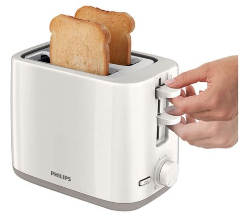 Toaster Philips Hd 4815 buy philips hd2595 01 2 slice toaster white free delivery currys