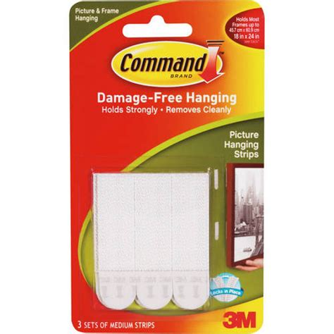 command strips 3m command picture hanging strips 17201 4 pk