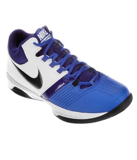 nike air pro visi 5 navy leather sport shoes price in