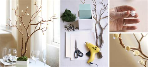 Handmade Home Ideas - handmade decorative paper tree with how to make