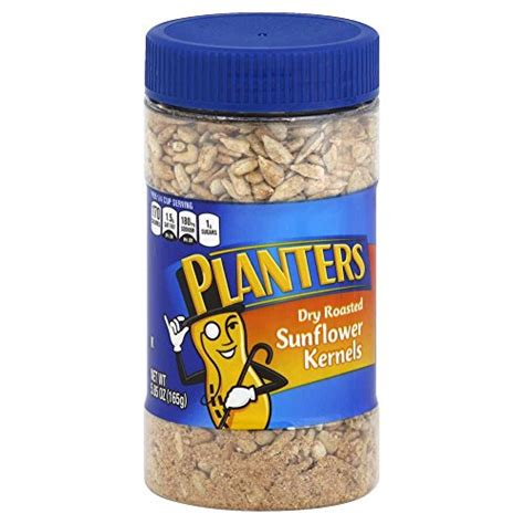 planters sunflower seeds planters roasted sunflower kernels 5 85 ounce 12 per food beverages tobacco food