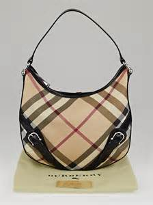 Burberry Check Canvas Hobo by Burberry Check Coated Canvas Hobo Bag Yoogi S Closet