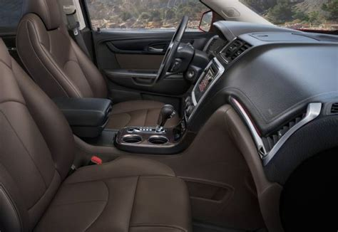 2015 gmc interior 2015 gmc acadia release date and redesign review price