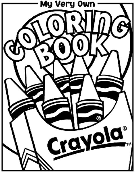 coloring book pages coloring book cover coloring page crayola