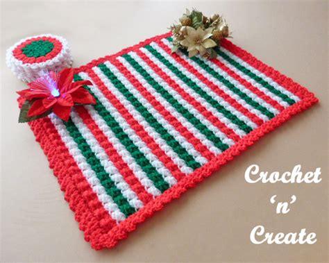 Crochet Table Mats - crochet table mat free crochet pattern crochet