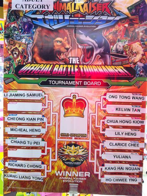 animal kaiser   card games ak tournament  compass point timezone   sep