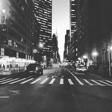In White new york city in black and white manhattan digest