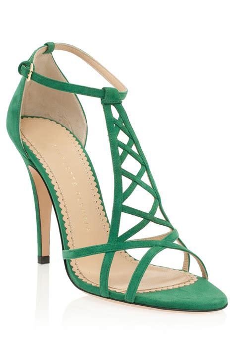 green sandals shoeniverse unusually subtle feat olympia
