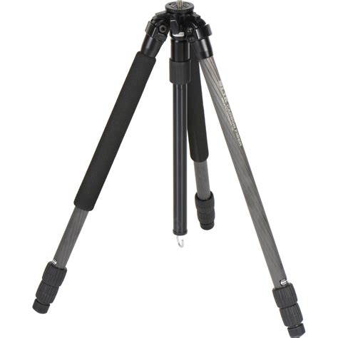 cf section slik pro 723 cf 3 section carbon fiber tripod 615 390 b h