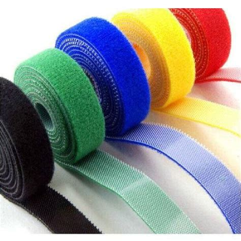 colored velcro 1 inch colored velcro roll rs 10 meter s s id