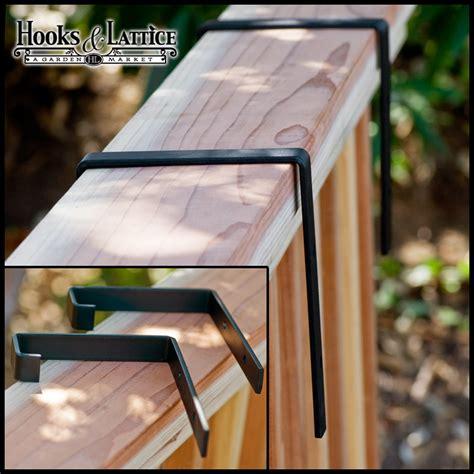 the rail window boxes window box brackets for deck railing diy pdf