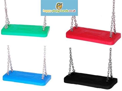 rubber swing seat childrens rubber heavy duty swing seat lux with chains for