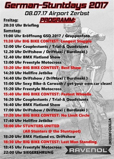 Motorrad Magazine Germany by German Stunddays 2017 Motorcycles News Motorrad Magazin