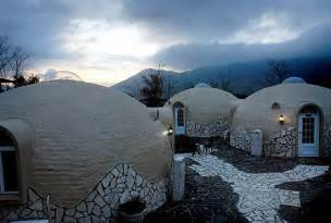 Japanese Dome House Prefab Styrofoam Dome House Futuristic Japanese Design