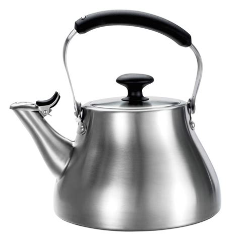 Hanging Shoe Storage by Oxo Good Grips Classic Tea Kettle In Brushed Stainless